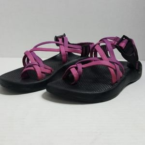 ChacoZX/2  purple double strap sandals